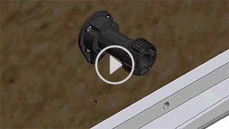 How to install and adjust the adjustable foot, for futher assistance call customer service