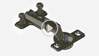 How to install and adjust the adjustable hinge, for futher assistance call customer service