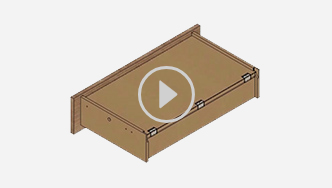 How to assemble a T-lock drawer, for futher assistance call customer service