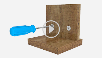 How to use the cam and dowel fastening system, for futher assistance call customer service