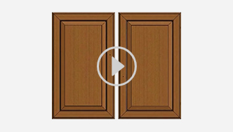 How to use your doors as a left or right option, for futher assistance call customer service