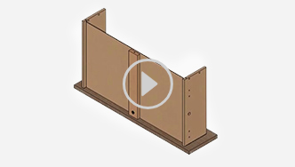 How to assemble a T-lock box drawer, for futher assistance call customer service