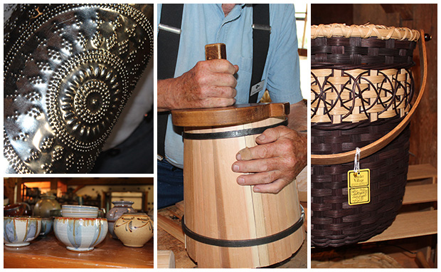 Historic crafts made at Sauder Village