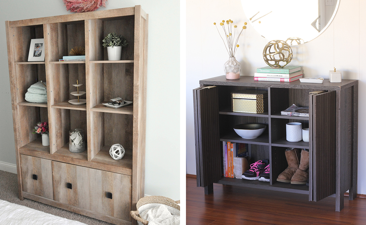 storage and display cabinets for bedroom storage