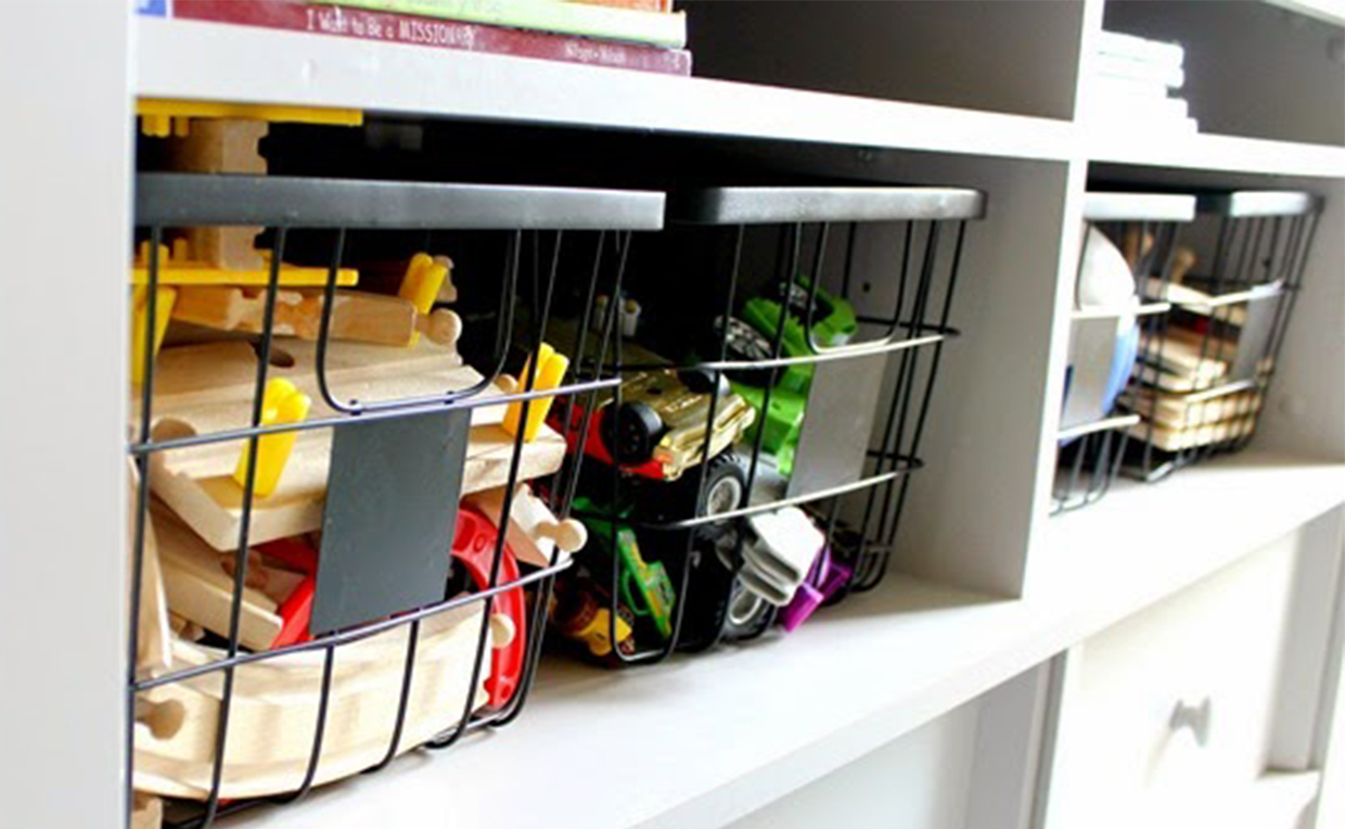 wire baskets for toy storage