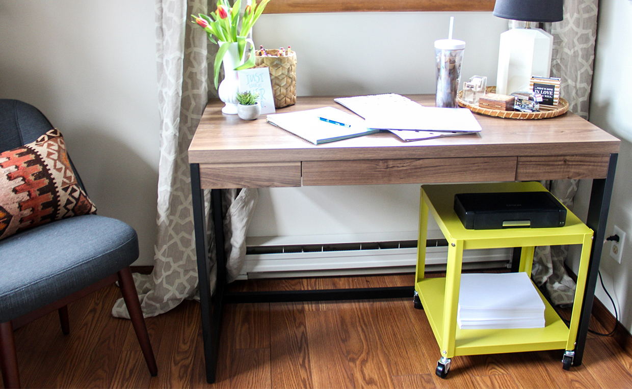 Soft Modern Multi Cart home office filing