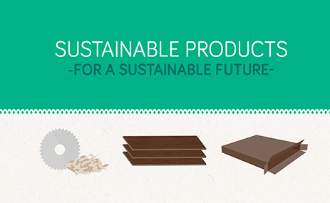 Sauder sustainable products