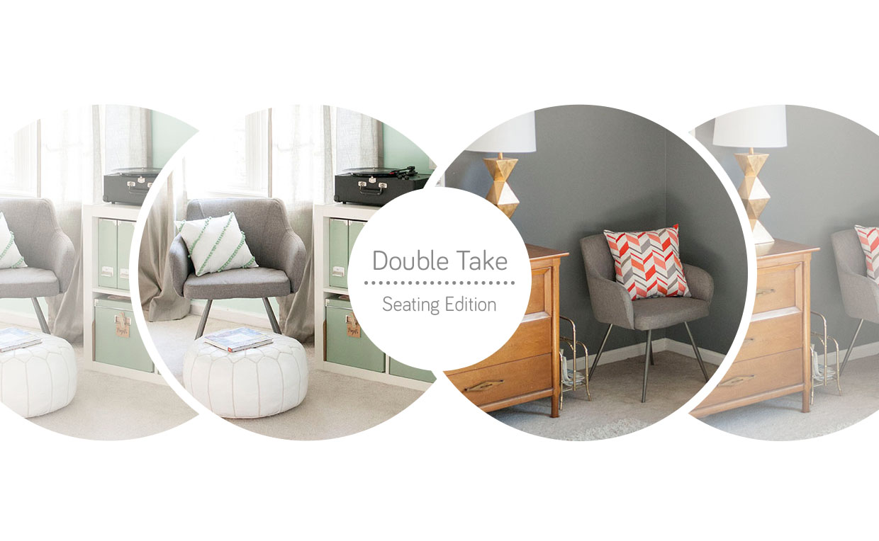 Double Take accent seating