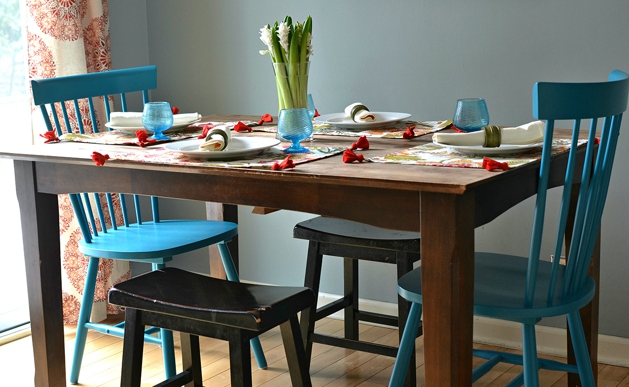 Cottage Road chairs at dining table 5