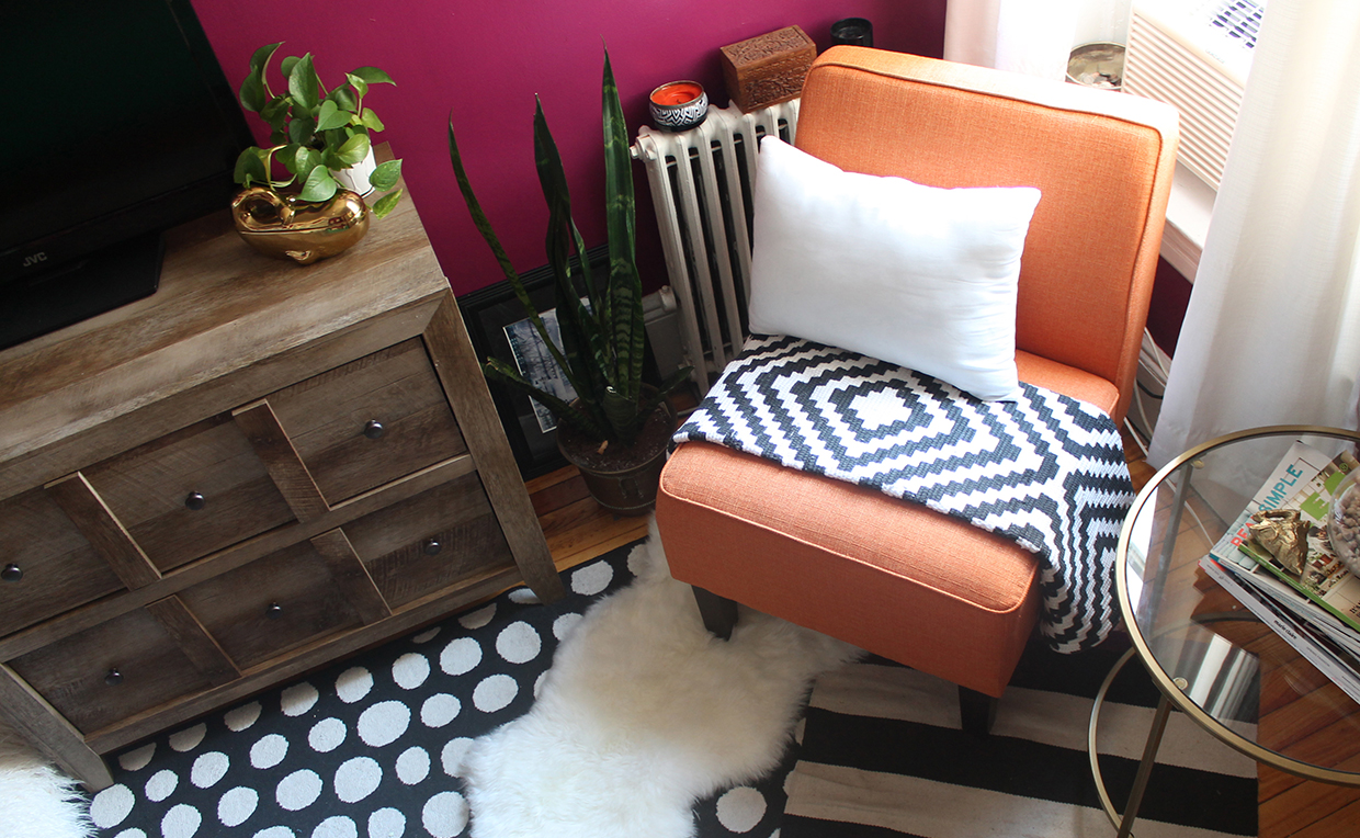 upholstered chair bedroom seating