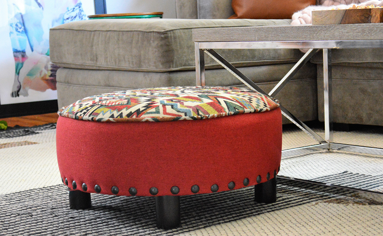 Ottoman, living room seating, stool, chairs, couch, sofa