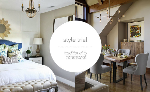 Style Trial: Traditional Style Furniture and Transitional Style ...