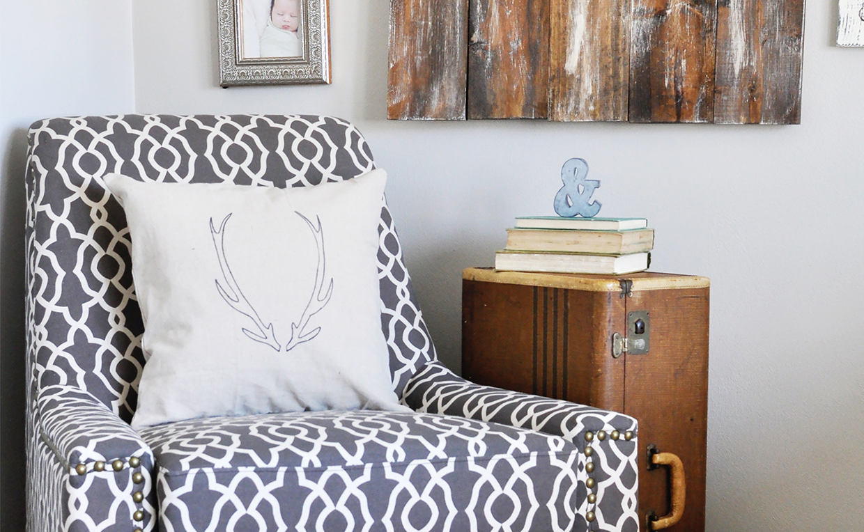 accent seating creates a cozy bedroom nook