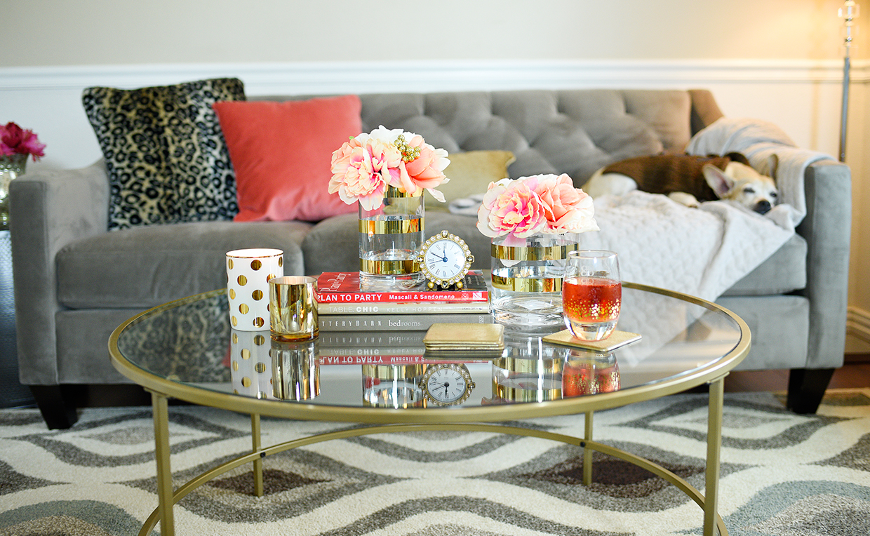 5 tips for a feng shui living room sauder international lux coffee table centered in the living room geotapseo Image collections