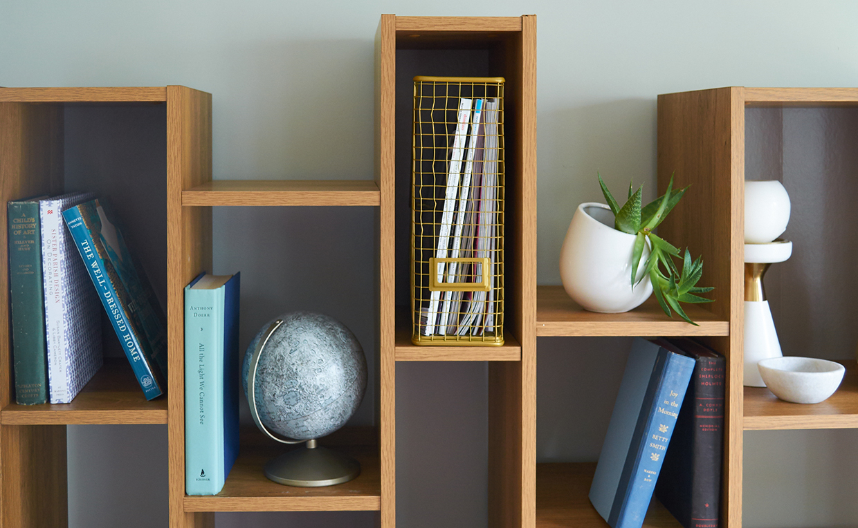 Soft Modern Wall Shelf home office filing