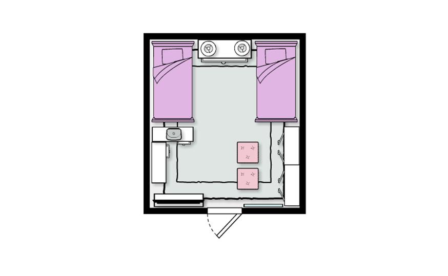 6 Expert Tips for Dorm Room Design | blog by Sauder - Sauder