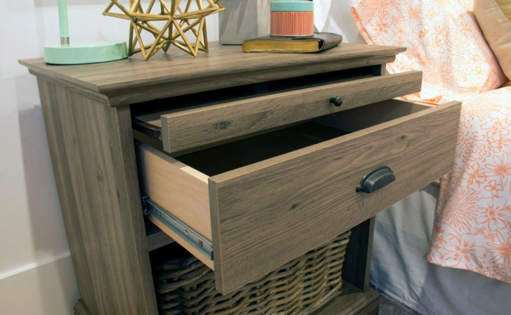 Barrister Lane Night Stand with drawer and shelf storage