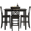 5-Piece Counter-Height Dinette Set