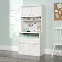 Storage Cabinet With Hutch