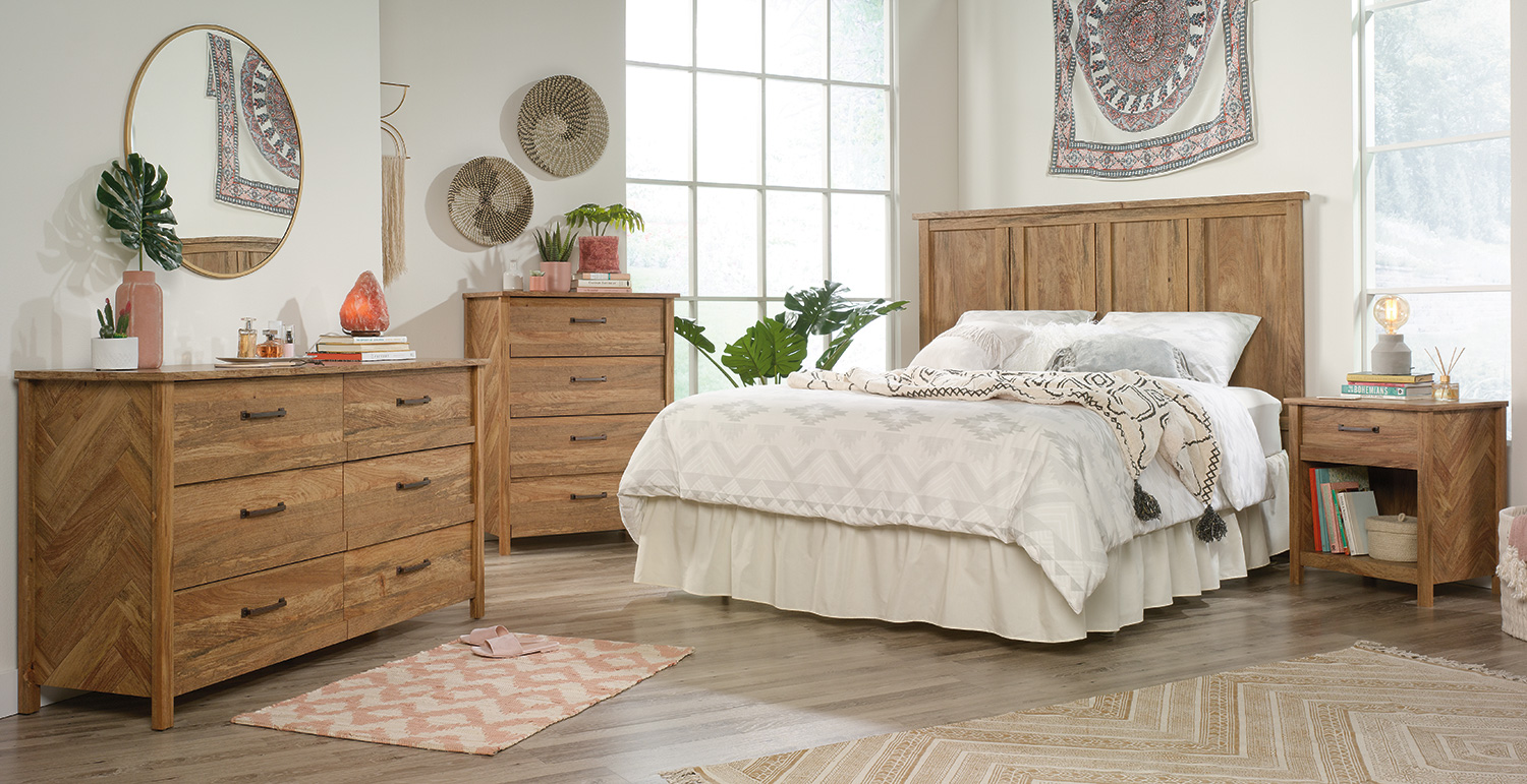 Cannery Bridge: Natural Wood Furniture Collection - Sauder Woodworking