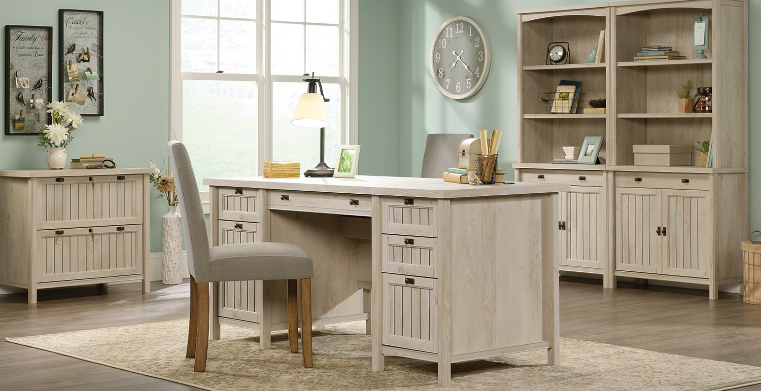 cottage style office furniture coastal beach style home office rh sauder com coastal style office furniture