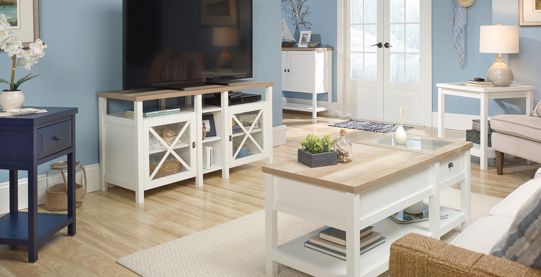 Cottage Style Living Room Furniture: Cottage Dining & Living ...
