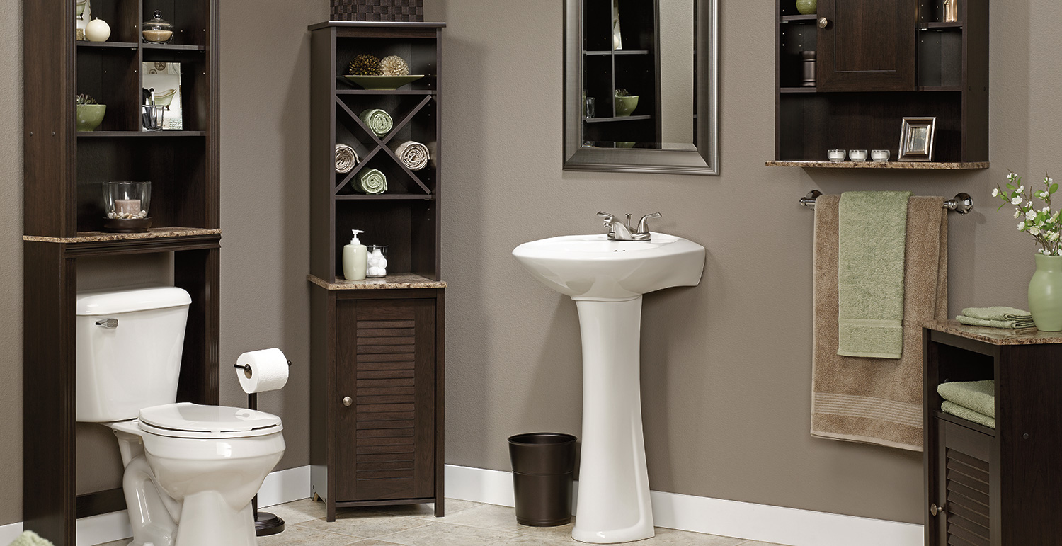 Bathroom Furniture Bath Cabinets Over Toilet Cabinet And