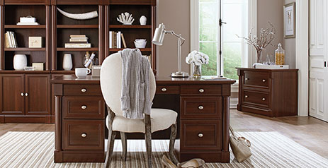 Cherry Furniture Collections Bedroom Living Room And Office Furniture Collections Sauder Woodworking