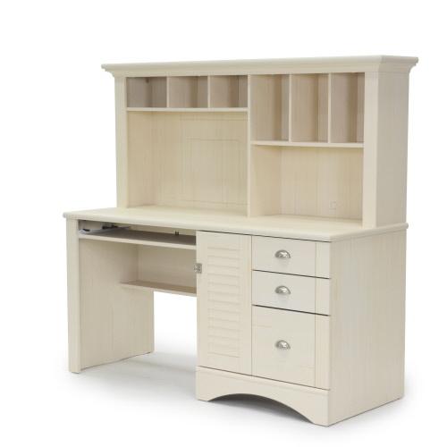 Harbor View Computer Desk With Hutch 158034 Sauder Sauder Woodworking
