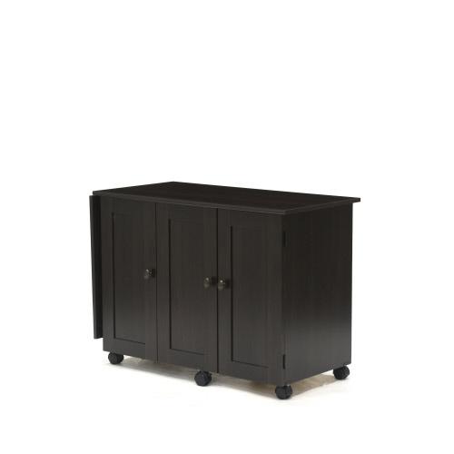 Sauder Select Drop Leaf Sewing Craft Cart 411615 Sauder