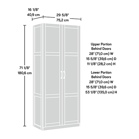 Sauder Select Storage Cabinet 419636 Sauder Sauder Woodworking