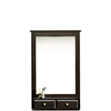 Dresser Mirror with Drawers for Bedroom 417708