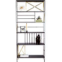 New Prairie Vertical Bookcase 416860
