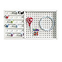Wall Mounted Pegboard With Thread Storage 423412