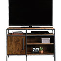 Industrial Metal & Wood TV Stand With Storage 423721