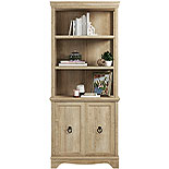 Orchard Oak 5-Shelf Bookcase with Doors 425124
