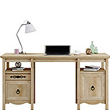 Classic Orchard Oak Executive Computer Desk 425125