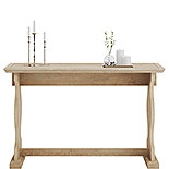 Wood Sofa Table in Orchard Oak Finish 425129