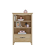 Timeless Orchard Oak Bookcase with Drawer 425130