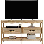 Traditional-Styled Wood TV Stand with Storage 425133