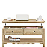 Wood Lift-Top Coffee Table in Orchard Oak 425134
