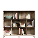 Bookcase with Cubbyhole Storage 425292