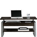 Contemporary Lift-Top Coffee Table with Shelf 425774