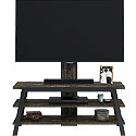 Industrial 2-Shelf TV Stand with Mount  425921