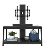 2-Shelf TV Stand with Floater Mount 426003