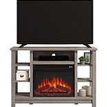 TV Stand with Electric Fireplace & Storage 426154