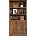 Farmhouse Style 5-Shelf 2-Door Bookcase 426417