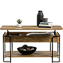 Industrial Metal & Wood Lift-top Coffee Table 426434