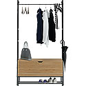 Wall-mounted Entryway Storage Organizer 426440