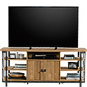 Wood & Metal TV Credenza with Storage 426453